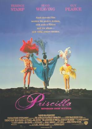 The Adventures of Priscilla, Queen of the Desert - German Movie Poster (thumbnail)