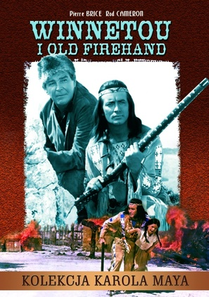 Winnetou und sein Freund Old Firehand - Polish Movie Poster (thumbnail)