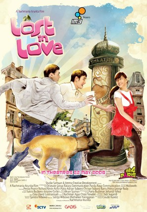 Lost in Love - Indonesian Movie Poster (thumbnail)