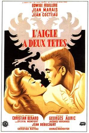 L'aigle à deux têtes - French Movie Poster (thumbnail)