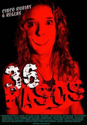 36 pasos - Argentinian Movie Poster (thumbnail)