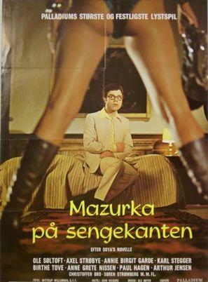 Mazurka på sengekanten - Danish Movie Poster (thumbnail)