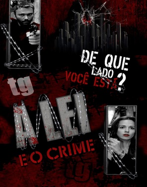"""A Lei e o Crime"" - Brazilian Movie Cover (thumbnail)"
