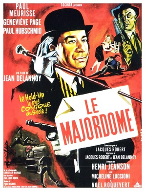 Le majordome - French Movie Poster (thumbnail)