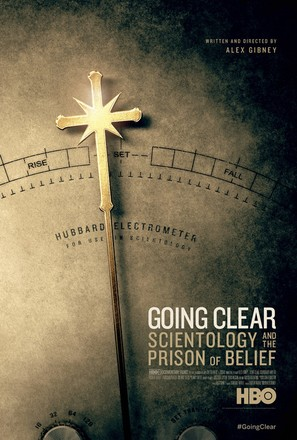 Going Clear: Scientology and the Prison of Belief - Movie Poster (thumbnail)