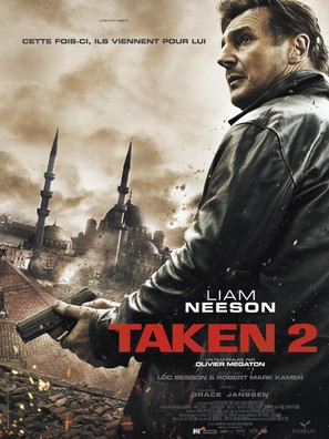 Taken 2 - French Movie Poster (thumbnail)