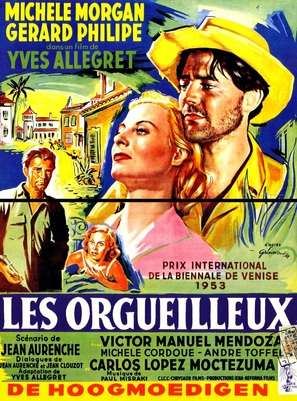 Orgueilleux, Les - French Movie Poster (thumbnail)