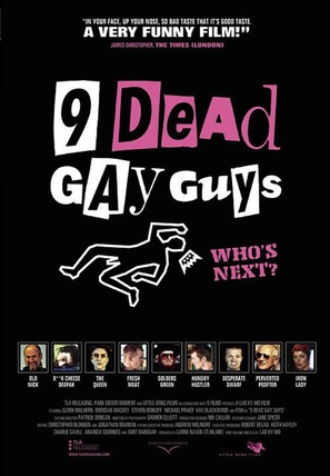 9 Dead Gay Guys - DVD cover (thumbnail)
