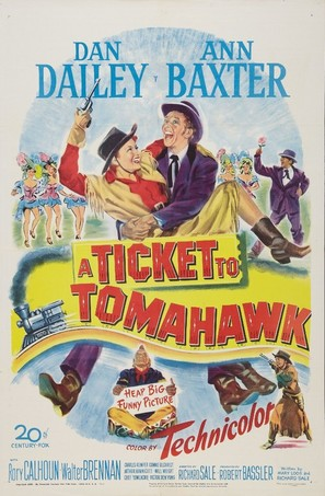 A Ticket to Tomahawk - Movie Poster (thumbnail)