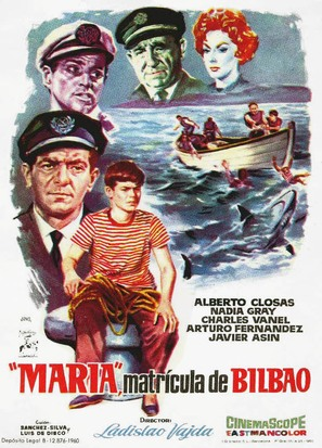 María, matrícula de Bilbao - Spanish Movie Poster (thumbnail)