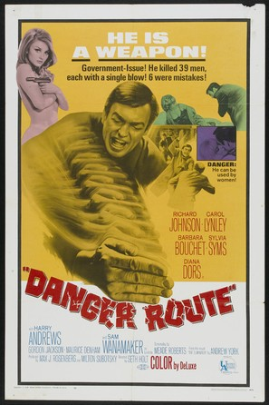 Danger Route - Movie Poster (thumbnail)