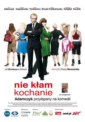 Nie klam, kochanie - Polish poster (thumbnail)