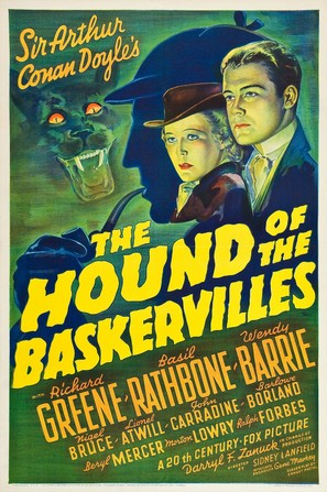 The Hound of the Baskervilles - Movie Poster (thumbnail)