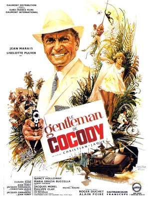Le gentleman de Cocody - French Movie Poster (thumbnail)