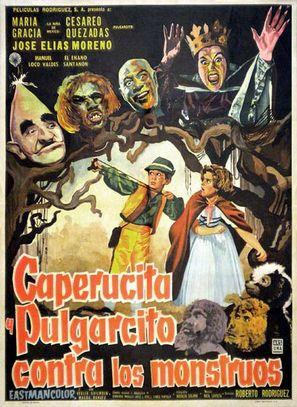 Caperucita y Pulgarcito contra los monstruos - Mexican Movie Poster (thumbnail)