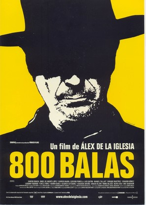 800 balas - Spanish Movie Poster (thumbnail)