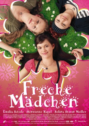 Freche Mädchen - German Movie Poster (thumbnail)