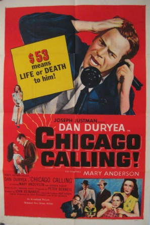 Chicago Calling - Movie Poster (thumbnail)