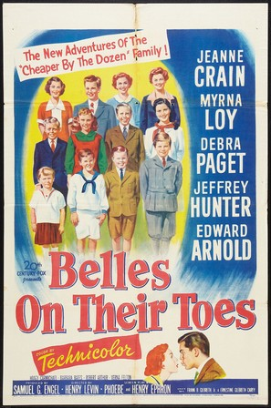 Belles on Their Toes - Movie Poster (thumbnail)