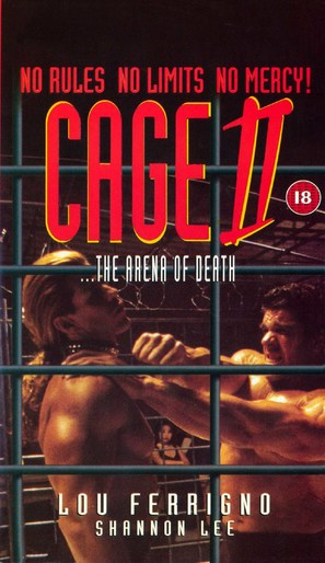 Cage II - British Movie Cover (thumbnail)