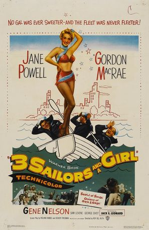 Three Sailors and a Girl - Movie Poster (thumbnail)