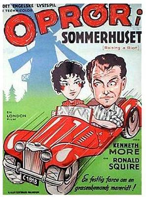 Raising a Riot - Danish Movie Poster (thumbnail)