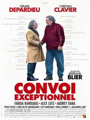 Convoi exceptionnel - French Movie Poster (thumbnail)