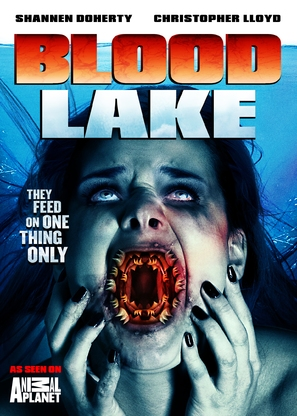 Blood Lake: Attack of the Killer Lampreys - DVD cover (thumbnail)