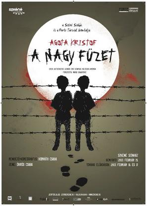 A nagy Füzet - Hungarian Movie Poster (thumbnail)