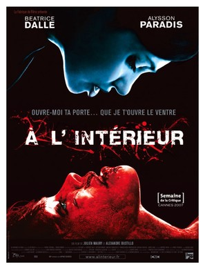 À l'intèrieur - French Movie Poster (thumbnail)