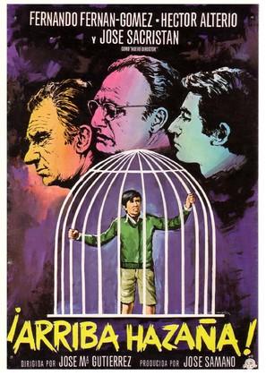 Arriba Hazaña - Spanish Movie Poster (thumbnail)