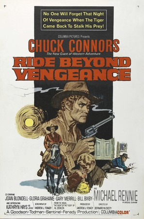 Ride Beyond Vengeance - Movie Poster (thumbnail)
