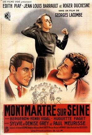 Montmartre-sur-Seine - French Movie Poster (thumbnail)