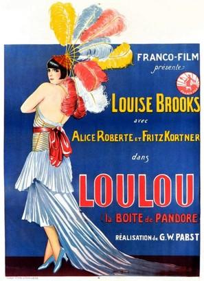 Die Büchse der Pandora - Belgian Movie Poster (thumbnail)