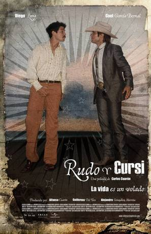 Rudo y Cursi - Mexican Movie Poster (thumbnail)