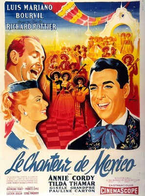 Chanteur de Mexico, Le - French Movie Poster (thumbnail)