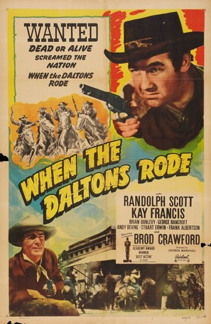 When the Daltons Rode - Re-release poster (thumbnail)