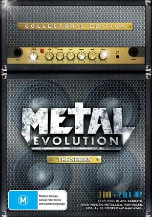 """""""Metal Evolution"""" - Australian DVD cover (thumbnail)"""