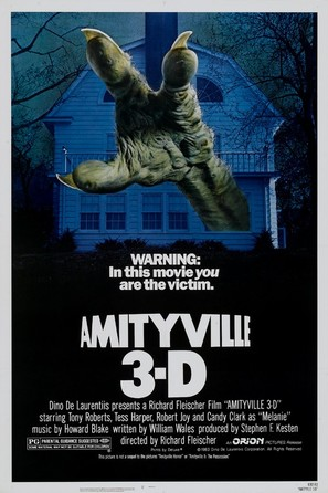 Amityville 3-D - Movie Poster (thumbnail)