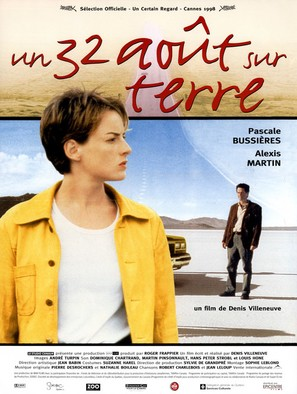 Un 32 août sur terre - French poster (thumbnail)