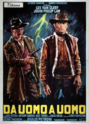 Da uomo a uomo - Italian Movie Poster (thumbnail)