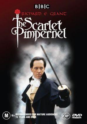 """The Scarlet Pimpernel"" - Australian DVD movie cover (thumbnail)"