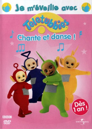 """""""Teletubbies"""" - French DVD cover (thumbnail)"""