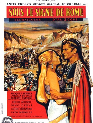Nel segno di Roma - French Movie Poster (thumbnail)