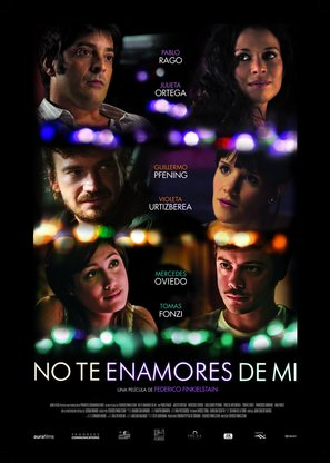 No te enamores de mí - Argentinian Movie Poster (thumbnail)