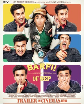 Barfi! - Indian Movie Poster (thumbnail)