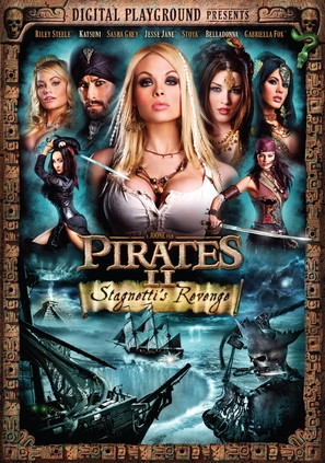 Pirates II: Stagnetti's Revenge - DVD cover (thumbnail)