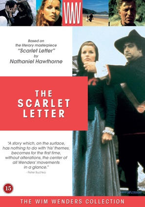 """The Scarlet Letter"" - Danish Movie Poster (thumbnail)"