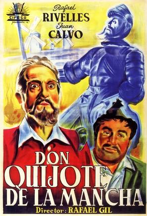 Don Quijote de la Mancha - Spanish Movie Poster (thumbnail)