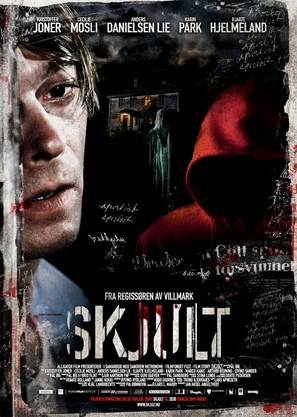 Skjult - Norwegian Movie Poster (thumbnail)